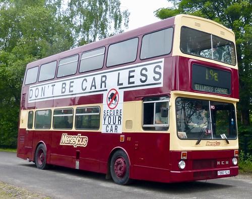 F810 YLV 'Merseybus' No. 810. MCW Metrobus 2 / MCW on Dennis Basford's railsroadsrunways.blogspot.co.uk'