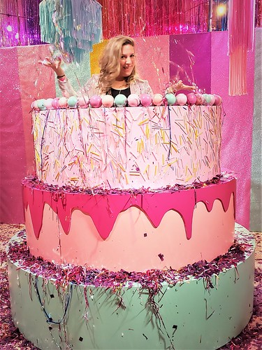 Glitter's 85th Birthday Bash at Rosé Mansion