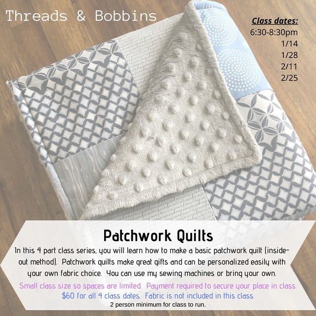 Patchwork Quilts with dates
