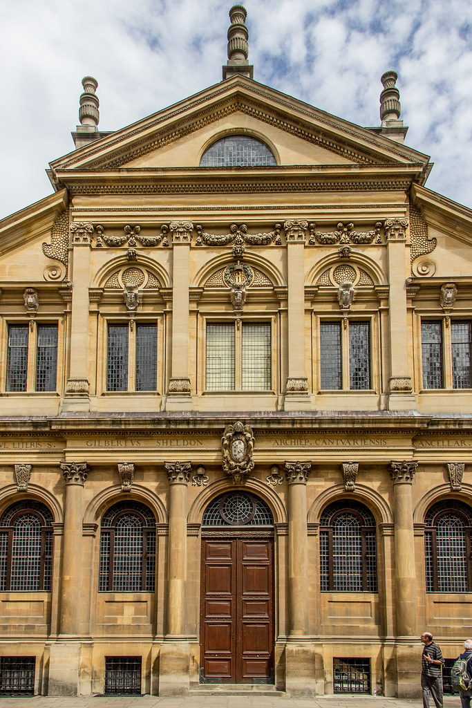 Sheldonian Theatre, Oxford, England
