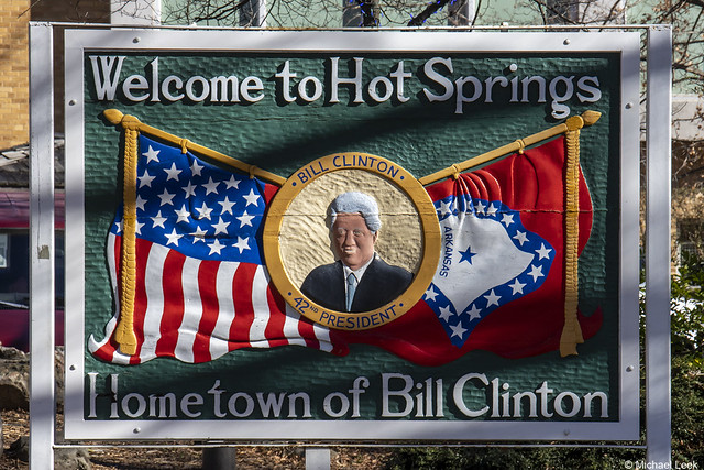 'Welcome to Hot Springs'; Hot Springs, Arkansas, USA