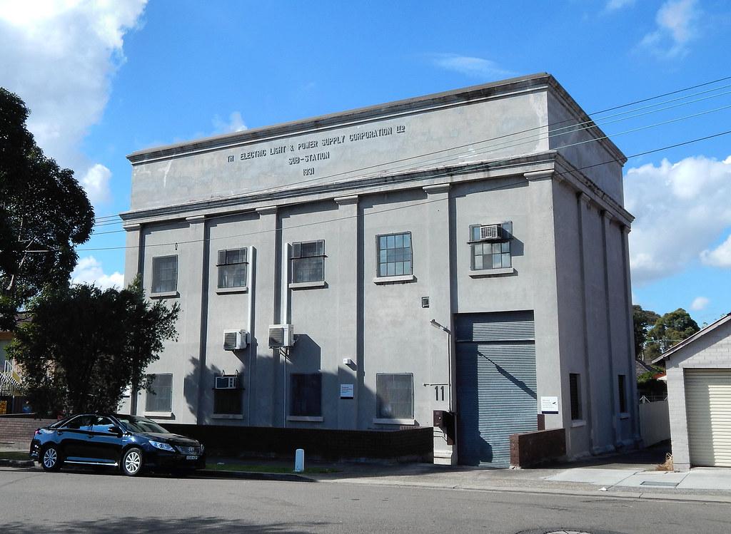 Electrical Sub Station, Haberfield, Sydney, NSW.
