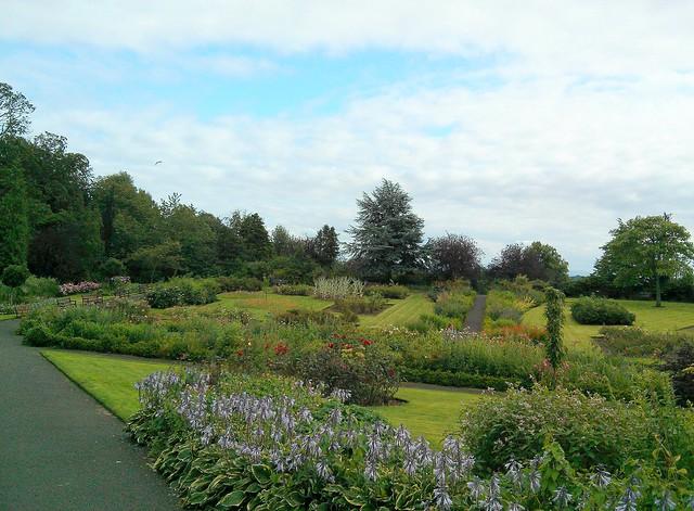 formal gardens, Pittencrieff Park, Dunfermline, Fife