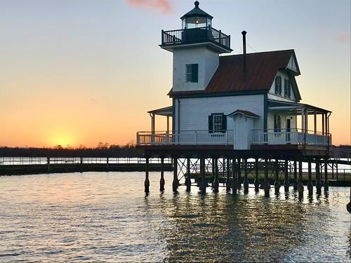 edenton northcarolina nc sunset bridge innerbanks
