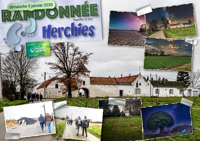 2020 - Herchies - 53ème randonnée « Points Verts »