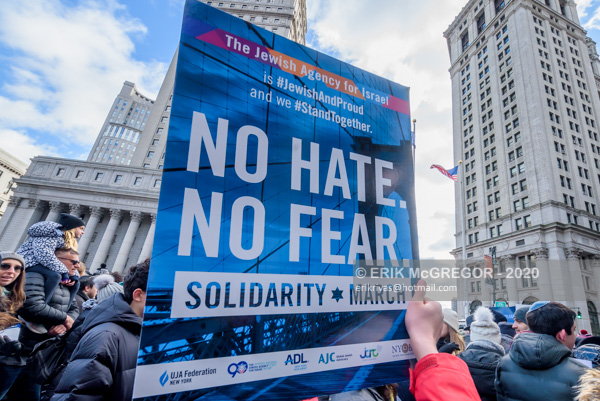 """No Hate. No Fear."" solidarity march in NYC"