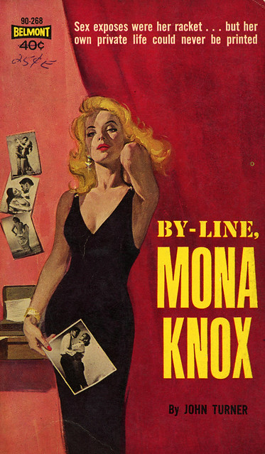 Belmont Books 90-268 - John Turner - By Line, Mona Knox