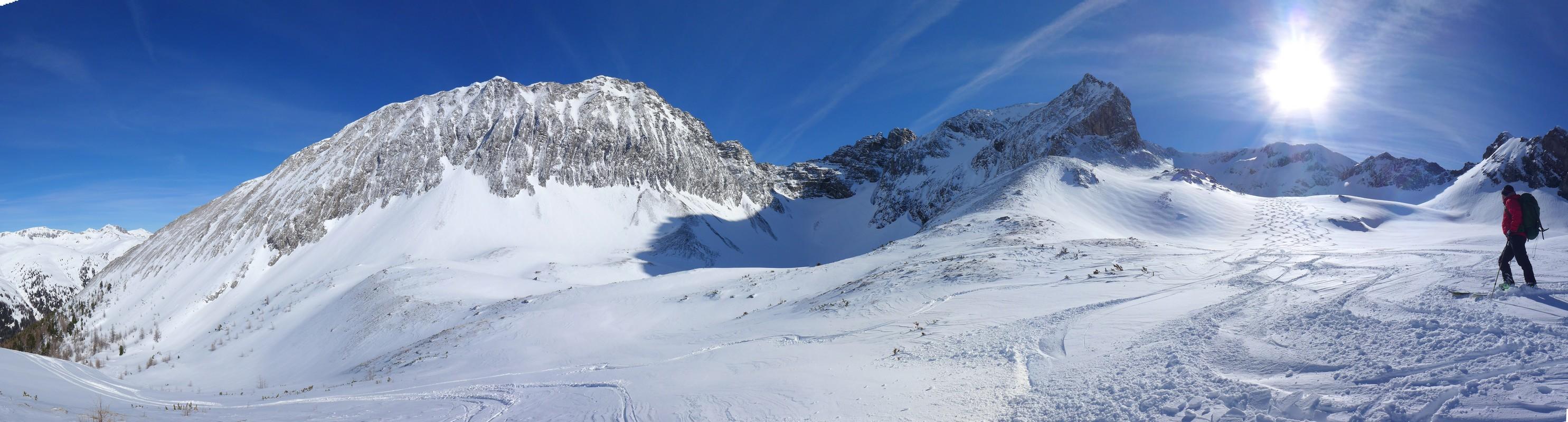 Weisseck Niedere Tauern Rakousko panorama 39