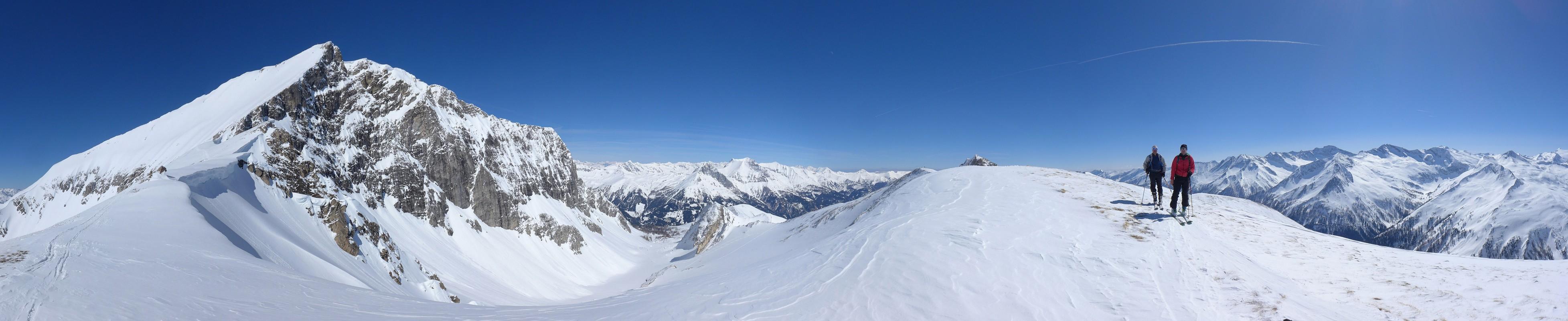 Weisseck Niedere Tauern Rakousko panorama 22