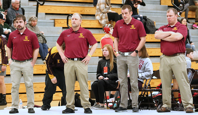 Forest Lake coaches. 200104AJF0043