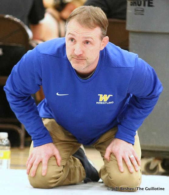 Wayzata wrestling coach Eric Swensen. 200104CJF0051