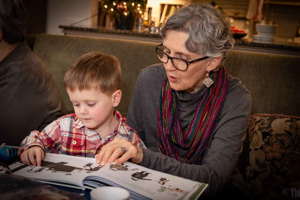Reading with Aunt Marci
