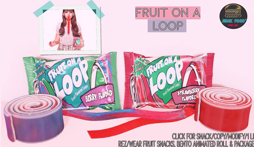 Junk Food - Fruit on a Loop Ad