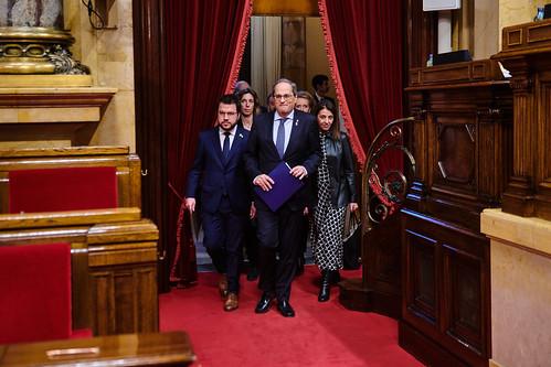 Ple del Parlament (5-1-2020)