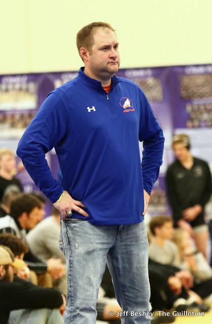 LPGE-Browerville wrestling coach Jake Lorentz. 200103EJF0013
