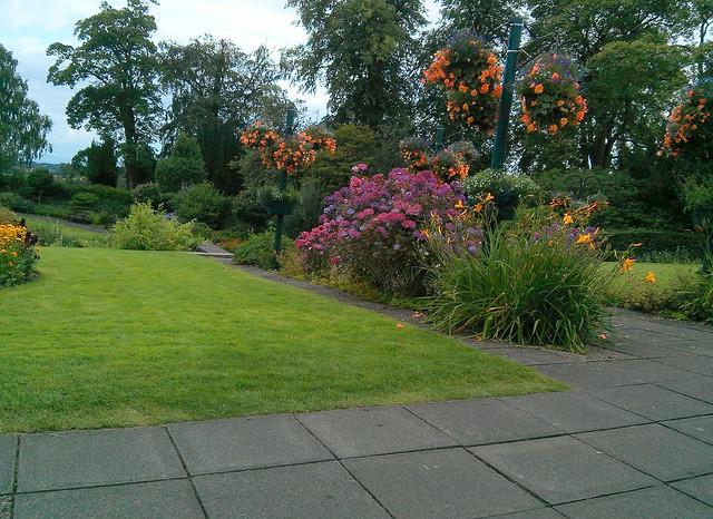 Pittencreiff Park gardens, Dunfermline, Fife, Scotland