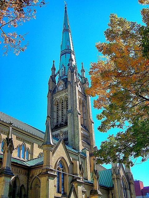Cathedral Church of St. James ~ Toronto Ontario Canada ~  Ontario Heritage ~  Clock
