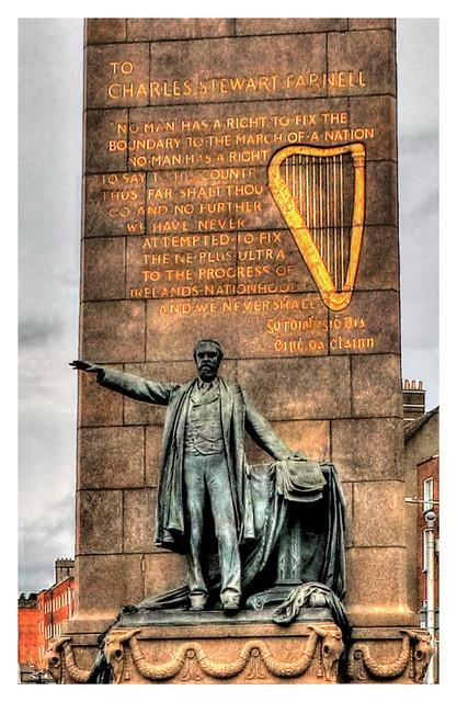 Dublin IR - Parnell Monument