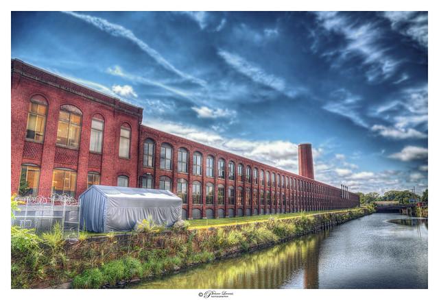 Historic Mills, Lawrence, MA USA