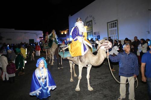 Cabalgata de Reyes de Teguise 2020