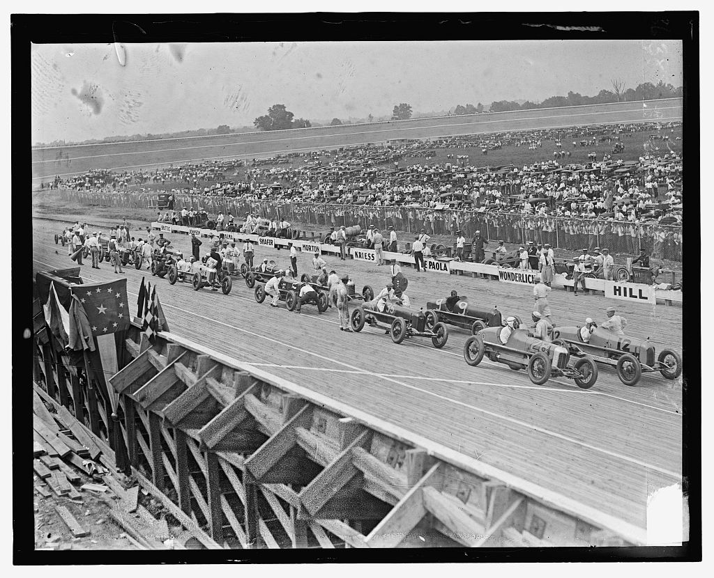 Identified! [Opening day at Laurel Speedway, Maryland, July 11, 1925] (LOC)
