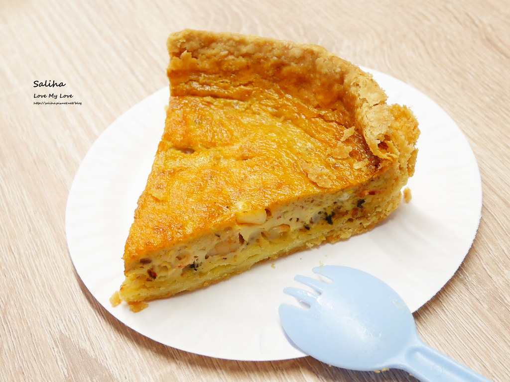 新北新店咖啡廳下午茶大坪林站老派的約會外帶鹹派甜派蛋糕 (2)