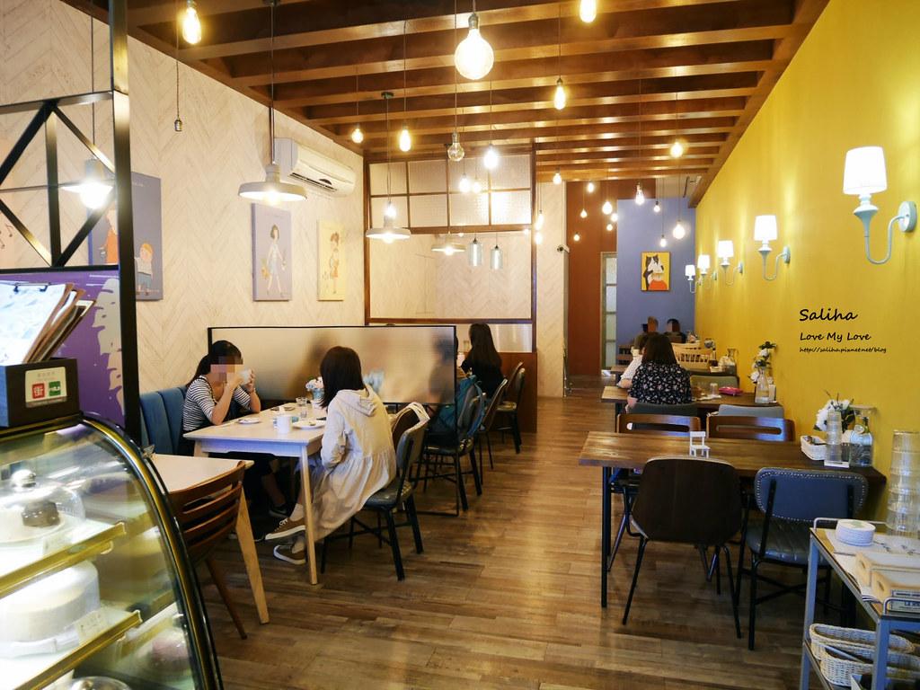 新北新店文青咖啡廳餐廳下午茶推薦大坪林站老派的約會 (4)