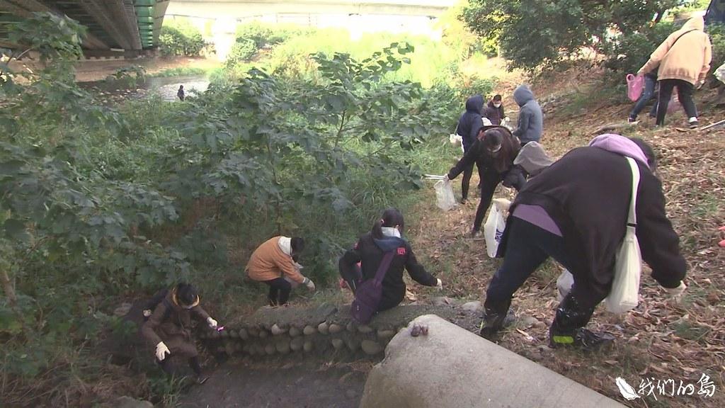 環保團體舉行志工培訓,希望找出哪裡是台灣河川廢棄物的熱區。