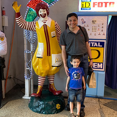 Ezra, Tito Abba, and Ronald McDonald