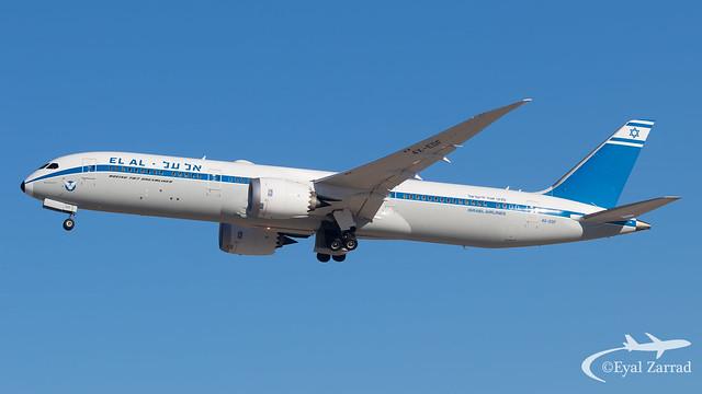 TLV - El Al Boeing 787-9 4X-EDF