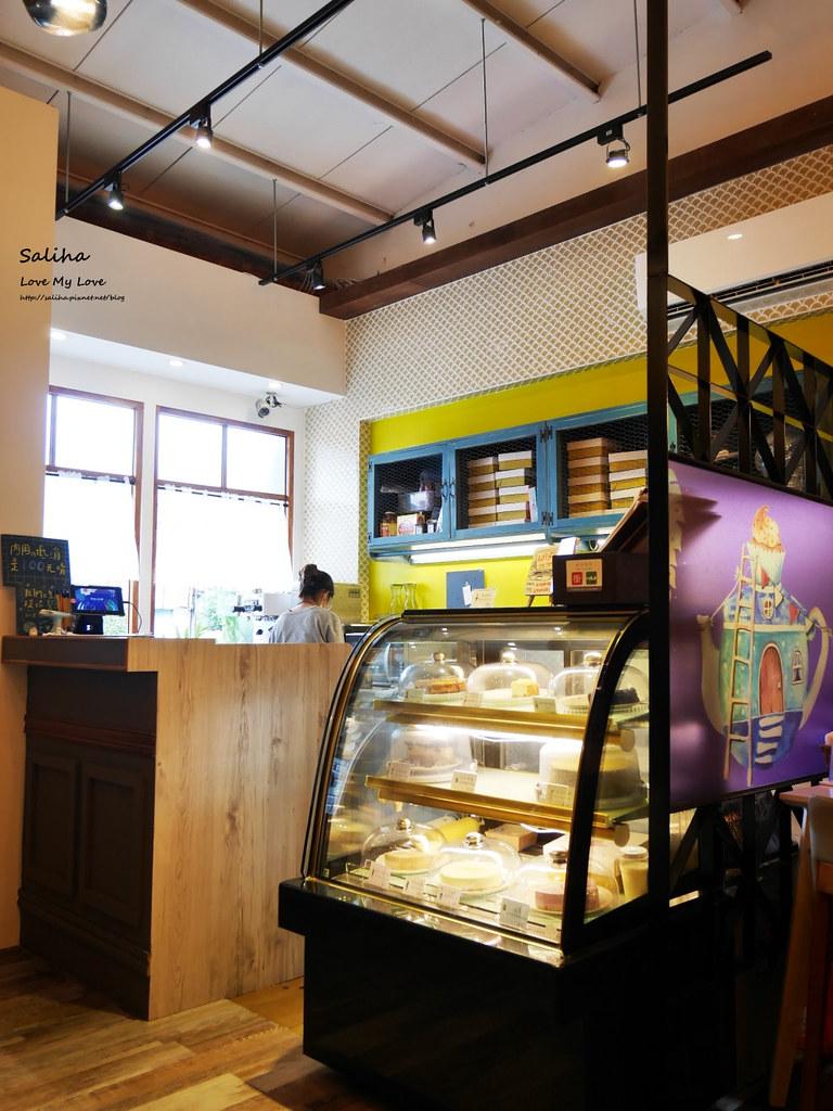新北新店文青咖啡廳餐廳下午茶推薦大坪林站老派的約會 (1)