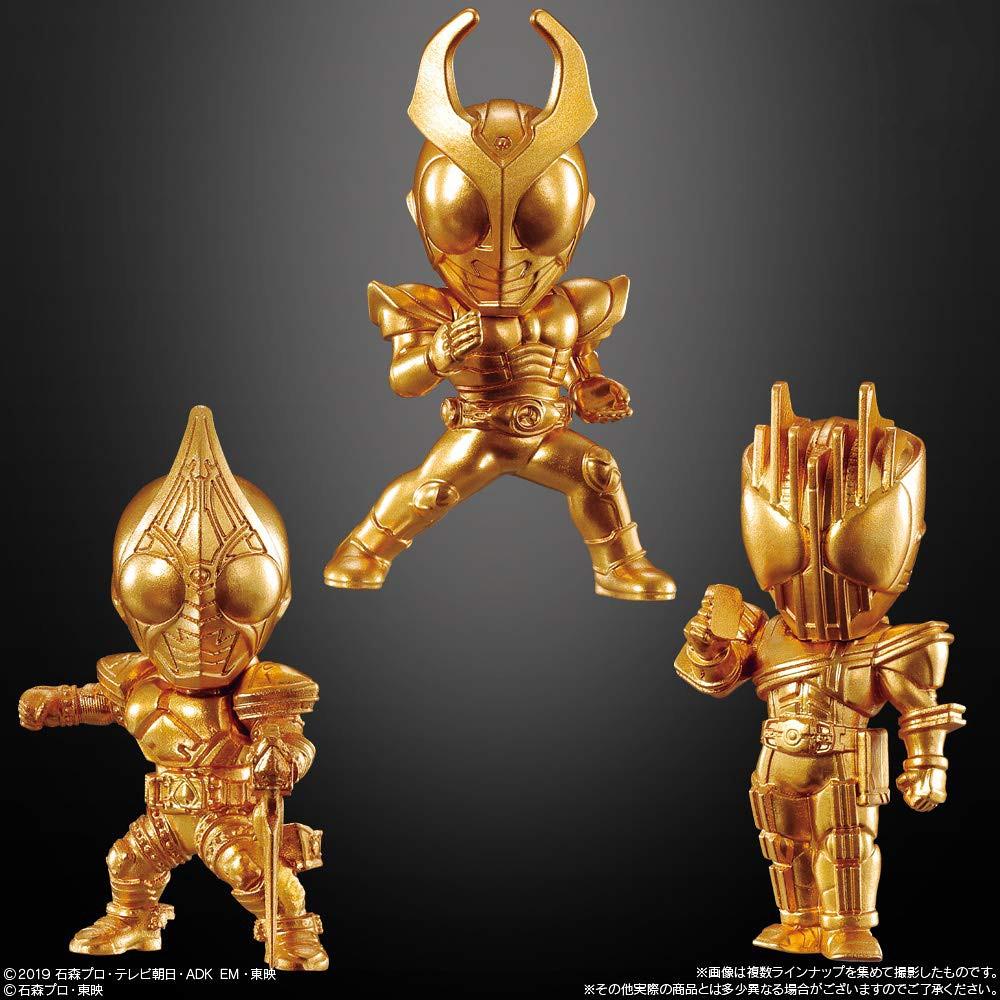 壓倒性的價格 × 造型 × 陣容!BANDAI CANDY《假面騎士》Gold Figure系列 食玩第一彈(仮面ライダーゴールドフィギュア01)全16款