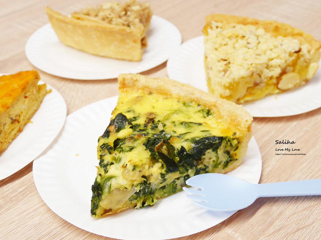 新北新店咖啡廳下午茶大坪林站老派的約會外帶鹹派甜派蛋糕 (1)