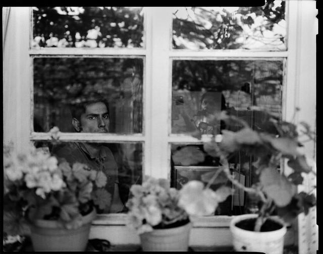 Mishi at grandma's house