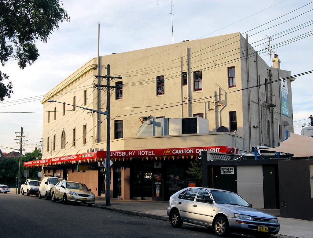 Huntsbury Hotel, Lewisham, Sydney, NSW.