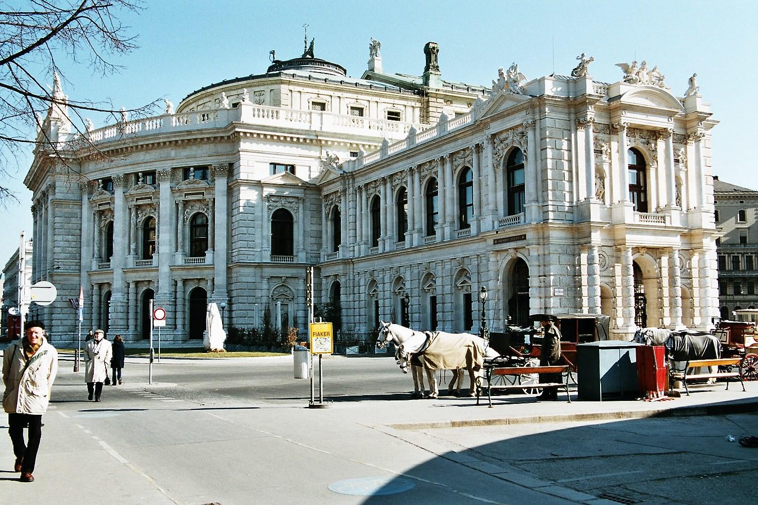 Burgtheater Februar 2003
