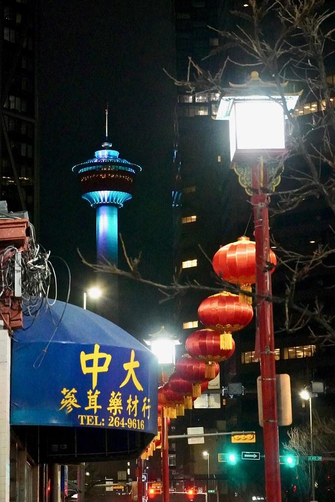 Follow the lanterns, Calgary Alberta, Canada