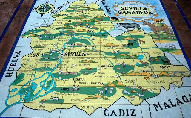 Sevilla Tile Map