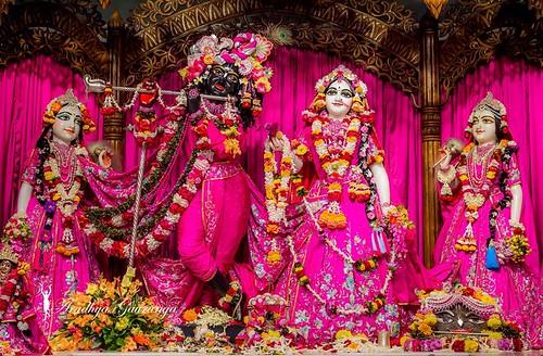 ISKCON Mayapur Deity Darshan 06 Jan 2020