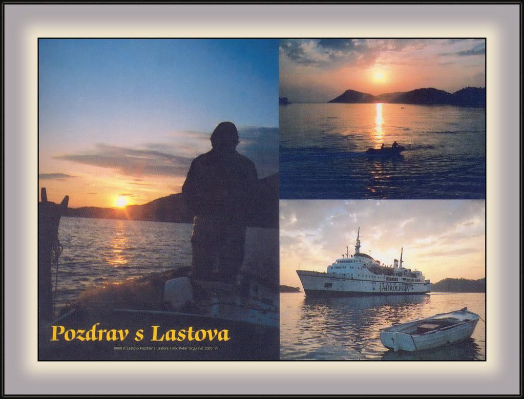 0860 R Lastovo Pozdrav s Lastova Foto: Petar Grgurević 2003. VT