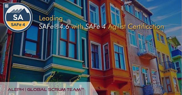 Leading SAFe® Certification | Enroll Now |  ALEPH- Global Scrum Team