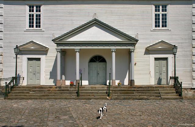 Norway: Mandal church