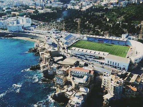 Le stade Omar Hamadi Bologhine-Stadium Algiers