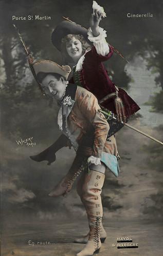 Mayol and Arlette Dorgère in Cinderella (1906)