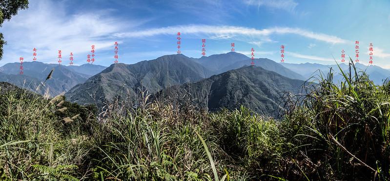 良楠山海拔1465m處東望 1-1
