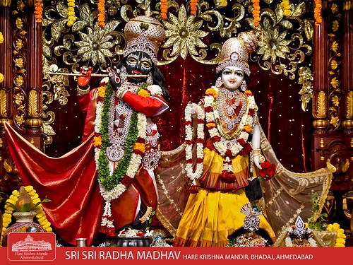 Hare Krishna Temple Ahmedabad Deity Darshan 06 Jan 2020