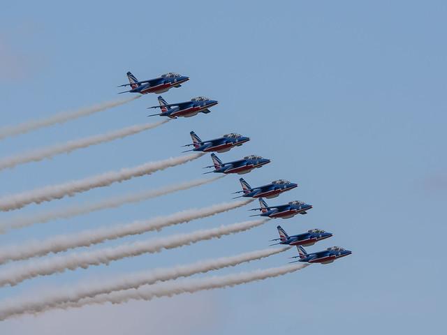 French Air Force Alpha Jet E 'Patrouille de France'