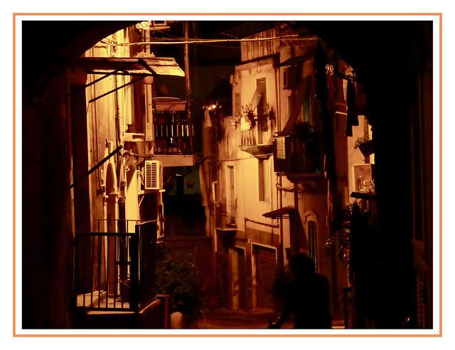 Notte nel vicolo