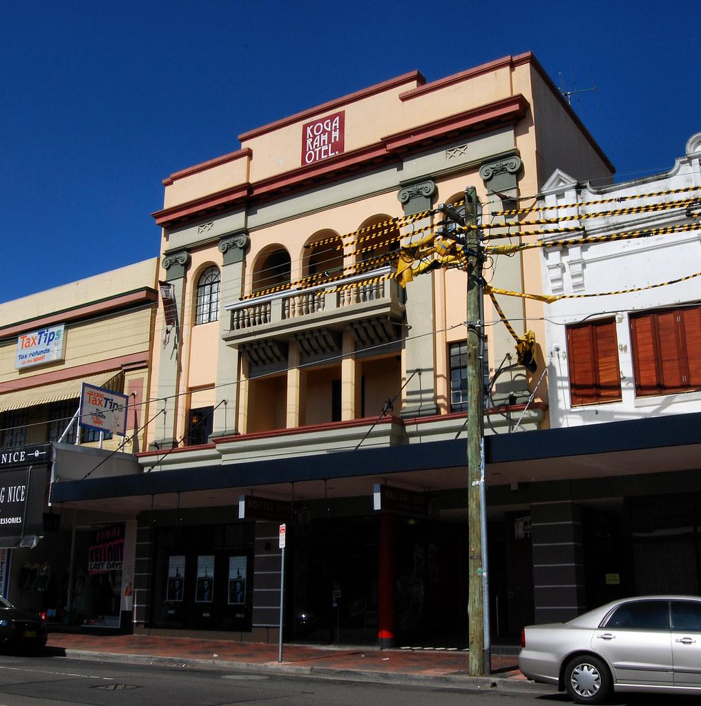 Kogarah Hotel, Kogarah, Sydney, NSW.