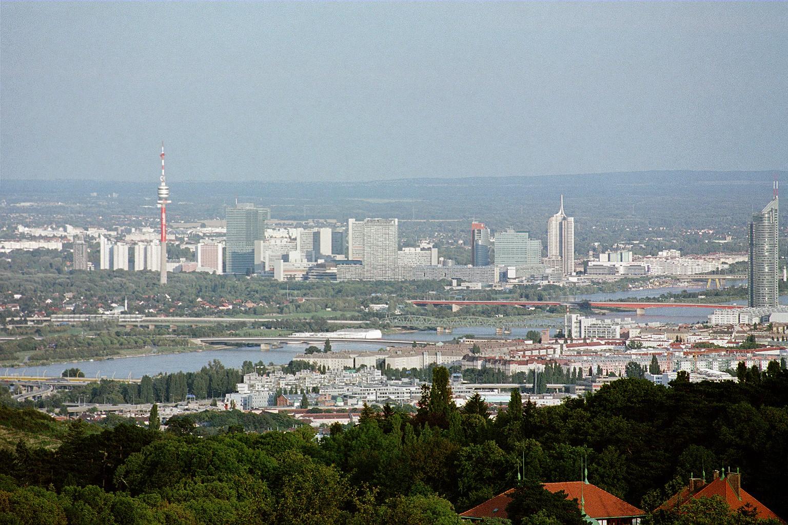 Wien Panorama 2001